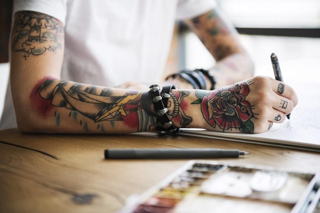 Evolution in the Tattoo Designing Procedures